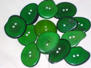 button emerald